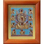 """Икона Божией Матери """"Знамение"""" Курская-Коренная, рамка 8*9,5 см - Иконы"""