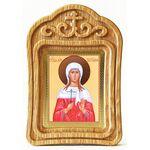Мученица Татиана Римская, икона в резной рамке - Иконы