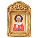 Мученица Фотина Самаряныня Римская, икона в резной рамке - Иконы