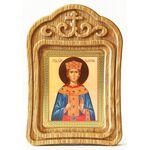 Великомученица Екатерина Александрийская, икона в резной рамке - Иконы