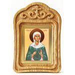 Мученица Дария Римская, икона в резной рамке - Иконы