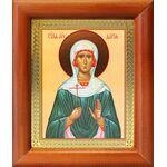 Мученица Дария Римская, икона в деревянной рамке 8*9,5 см - Иконы