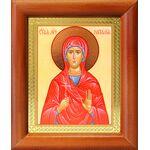 Мученица Наталия Никомидийская, икона в деревянной рамке 8*9,5 см - Иконы