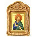 Апостол Андрей Первозванный, в резной деревянной рамке - Иконы