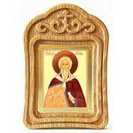Илия Пророк, икона в резной деревянной рамке - Иконы