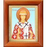 Святитель Никита Новгородский, икона в деревянной рамке 8*9,5 см - Иконы