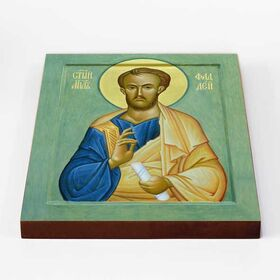 Апостол от 70-ти Фаддей Едесский, Бейрутский, икона на доске 20*25 см - Иконы