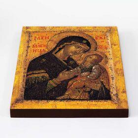 """Икона Божией Матери """"Мати Молебница"""", печать на доске 20*25 см - Иконы"""
