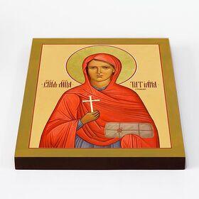 Мученица Татиана Гримблит, икона на доске 20*25 см - Иконы