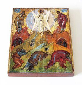 Преображение Господне, Феофан Грек, 1403 г, икона на доске 13*16,5 см - Иконы