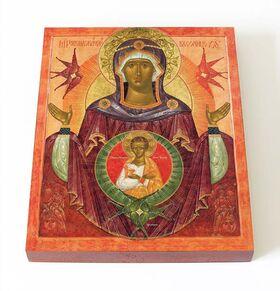 """Икона Божией Матери """"Жена Облеченная В Солнце"""", доска 13*16,5 см - Иконы"""