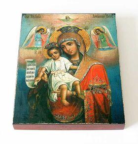 """Икона Божией Матери """"Достойно есть"""" или """"Милующая"""", на доске 13*16,5см - Иконы"""