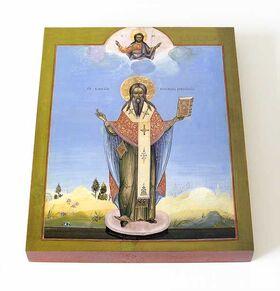 Святитель Василий, епископ Рязанский, печать на доске 13*16,5 см - Иконы