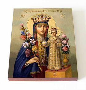 """Икона Божией Матери """"Неувядаемый Цвет"""", 13*16,5 см - Иконы"""