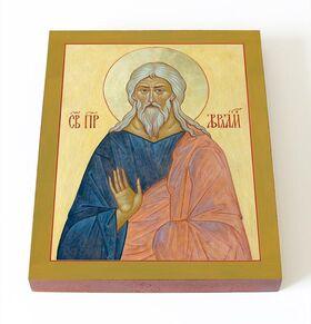 Ветхозаветный патриарх Авраам, икона на доске 13*16,5 см - Иконы