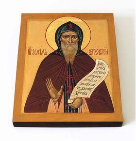 Преподобный Зосима Верховский, икона на доске 8*10 см - Иконы