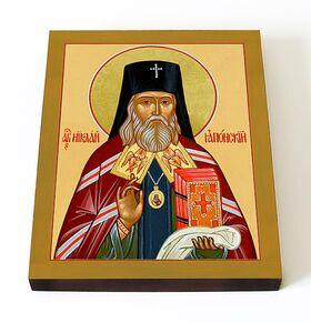 Святитель Николай Японский, икона на доске 13*16,5 см - Иконы