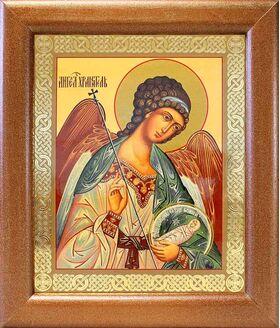 Ангел Хранитель поясной, икона в широкой рамке 19*22,5 см - Иконы