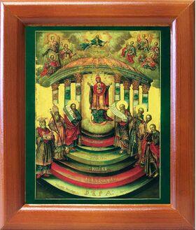София Премудрость Божия, Киевская, икона в рамке 12,5*14,5 см - Иконы