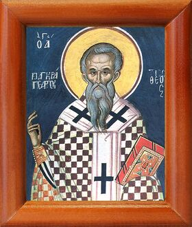 Священномученик Панкратий Тавроменийский, икона в рамке 8*9,5 см - Иконы