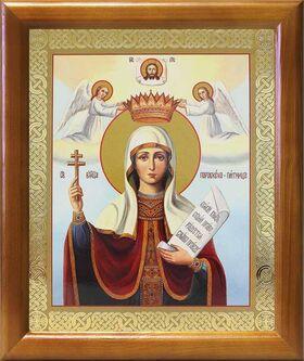 Великомученица Параскева Пятница, икона в рамке 17,5*20,5 см - Иконы